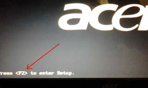 Как загрузить ноутбук асер с флешки