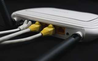 Как сделать проводной интернет через роутер