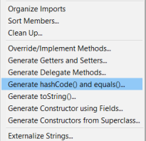Java object hashcode