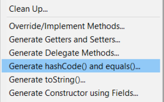 Java object hashcode