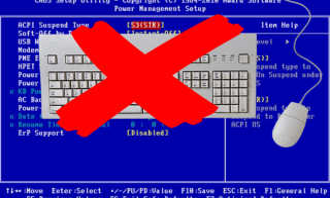 Настройка клавиатуры bios